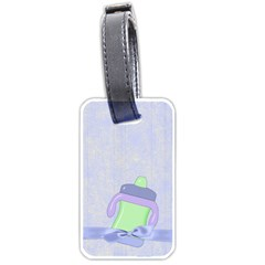 Foodie Boy Luggage Tag By Lisa Minor   Luggage Tag (two Sides)   Fil250umkedf   Www Artscow Com Back