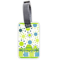 Bluegrass Boy Luggage Tag By Lisa Minor   Luggage Tag (two Sides)   W3in9itl6clz   Www Artscow Com Back