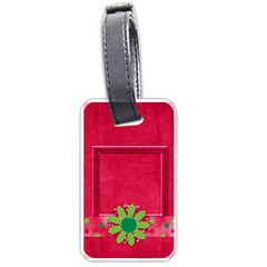 Merry And Bright Luggage Tag 1 By Lisa Minor   Luggage Tag (two Sides)   M8q2dhji0zrz   Www Artscow Com Front