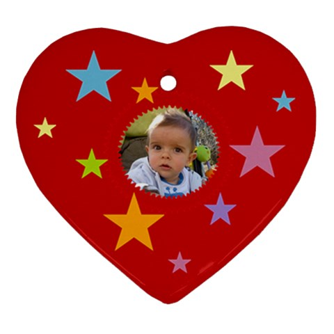 Starry Heart By Daniela   Ornament (heart)   Aes32r4awbpr   Www Artscow Com Front
