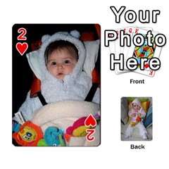 Gabi Karti Za Igra By Kalina   Playing Cards 54 Designs   Kl05pjmrrrw8   Www Artscow Com Front - Heart2