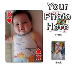 Gabi Karti Za Igra By Kalina   Playing Cards 54 Designs   Kl05pjmrrrw8   Www Artscow Com Front - Heart10