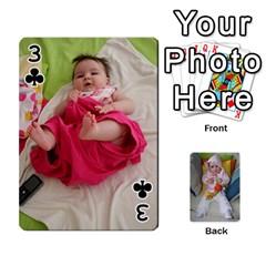 Gabi Karti Za Igra By Kalina   Playing Cards 54 Designs   Kl05pjmrrrw8   Www Artscow Com Front - Club3
