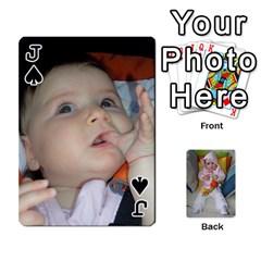 Jack Gabi Karti Za Igra By Kalina   Playing Cards 54 Designs   Kl05pjmrrrw8   Www Artscow Com Front - SpadeJ