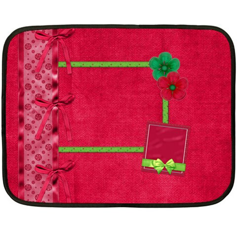 Merry And Bright Small Blanket By Lisa Minor   Fleece Blanket (mini)   Mpvy95wrudv2   Www Artscow Com 35 x27 Blanket
