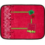 Merry and Bright Small Blanket - Mini Fleece Blanket