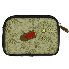 Autumn Story Camera Case By Lisa Minor   Digital Camera Leather Case   Ey6y9mb08gao   Www Artscow Com Back