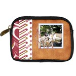 I Heart Camera Bag - Digital Camera Leather Case