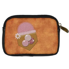 I Heart Camera Bag By Lisa Minor   Digital Camera Leather Case   Xealu49eiu70   Www Artscow Com Back