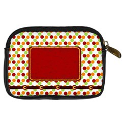 Miss Ladybugs Garden Camera Case 2 By Lisa Minor   Digital Camera Leather Case   Bgduwo19drbv   Www Artscow Com Back
