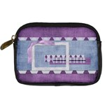Lavender Rain Camera Bag 2 - Digital Camera Leather Case