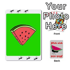 Pick Nick By Richard Lallatin   Playing Cards 54 Designs   Mxzxqzvr3xtq   Www Artscow Com Front - Spade3