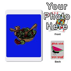 Pick Nick By Richard Lallatin   Playing Cards 54 Designs   Mxzxqzvr3xtq   Www Artscow Com Front - Heart4