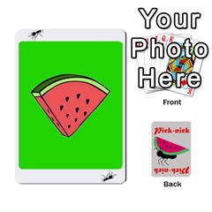 Pick Nick By Richard Lallatin   Playing Cards 54 Designs   Mxzxqzvr3xtq   Www Artscow Com Front - Spade4