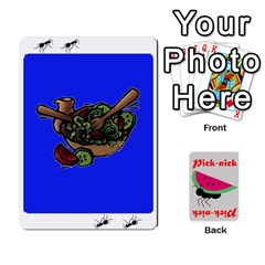 Pick Nick By Richard Lallatin   Playing Cards 54 Designs   Mxzxqzvr3xtq   Www Artscow Com Front - Diamond8
