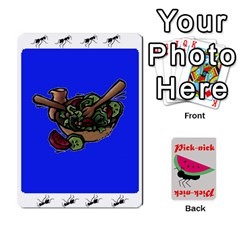 Pick Nick By Richard Lallatin   Playing Cards 54 Designs   Mxzxqzvr3xtq   Www Artscow Com Front - Spade10