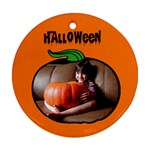 Halloween - ORNAMENT - Round Ornament (Two Sides)