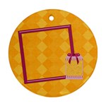 Awaken Her Round 1 Sided Ornament - Ornament (Round)