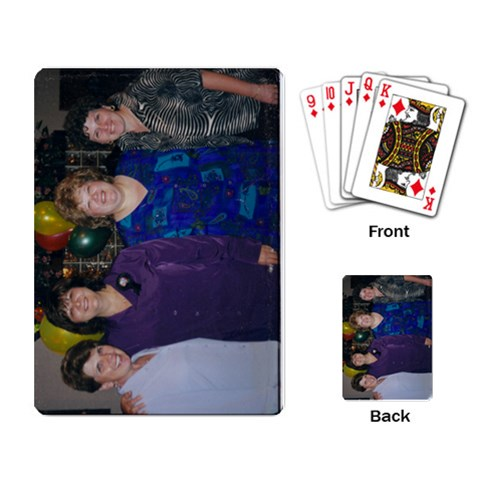 By Elaine Giurleo   Playing Cards Single Design   Vbe91zkva6gh   Www Artscow Com Back