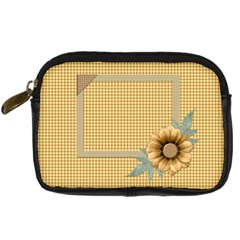 Quilted Camera Bag By Lisa Minor   Digital Camera Leather Case   Fe48ze7c5j0u   Www Artscow Com Front