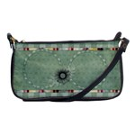 Quilted Clutch Bag - Shoulder Clutch Bag