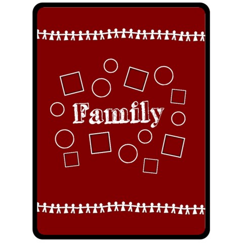 Family Xl Blanket By Amanda Bunn   Fleece Blanket (large)   Qjfk19tzhv7w   Www Artscow Com 80 x60 Blanket Front