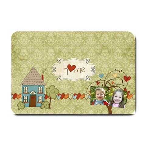 Beautiful Home Doormat By Sheena   Small Doormat   Agtj2l1d78y3   Www Artscow Com 24 x16 Door Mat - 1