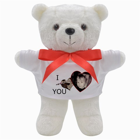 I Heart You Valentine Bear By Sheena   Teddy Bear   Rlvc4x9royrc   Www Artscow Com Front