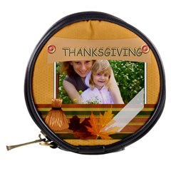 Thanksgiving By Joely   Mini Makeup Bag   G0phpvlh3ago   Www Artscow Com Back