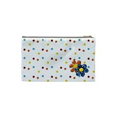 Silly Summer Fun Small Cosmetic Bag By Lisa Minor   Cosmetic Bag (small)   81nmyhtbmgs1   Www Artscow Com Back