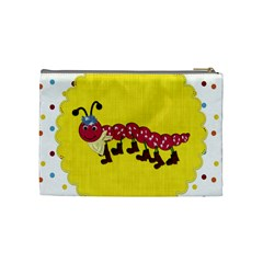 Silly Summer Fun Medium Cosmetic Bag By Lisa Minor   Cosmetic Bag (medium)   Sua7i64nc25n   Www Artscow Com Back