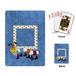 Silly Summer Fun Playing Cards 1 - Playing Cards Single Design