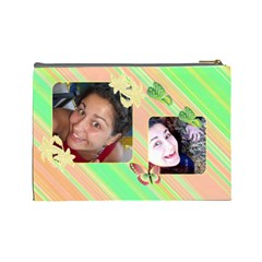Cosmetic Bag Vesy By Galya   Cosmetic Bag (large)   Qlyyc83zvkvc   Www Artscow Com Back