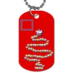Christmas tree - Dog Tag (One Side)