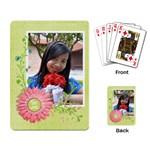 hong - Playing Cards Single Design