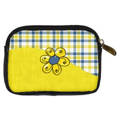 Silly Summer Fun Camera Case 1 By Lisa Minor   Digital Camera Leather Case   Hirww5n5x74e   Www Artscow Com Back