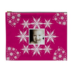 Snow Baby Single Frame Crystal Cosmetic Bag By Catvinnat   Cosmetic Bag (xl)   5tp2ny7r1gt1   Www Artscow Com Front