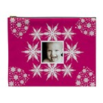 Snow Baby Single frame crystal cosmetic bag - Cosmetic Bag (XL)