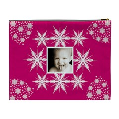 Snow Baby Single Frame Crystal Cosmetic Bag By Catvinnat   Cosmetic Bag (xl)   5tp2ny7r1gt1   Www Artscow Com Back