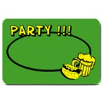 PARTY BEER - 30 X20  BAR MAT - Large Doormat
