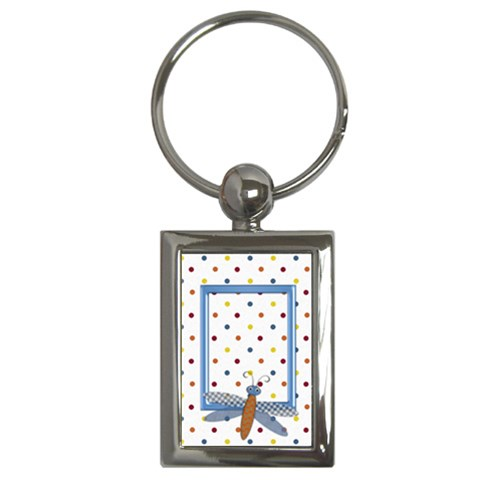 Silly Summer Fun Keychain 1 By Lisa Minor   Key Chain (rectangle)   4hx58qaz8rjc   Www Artscow Com Front