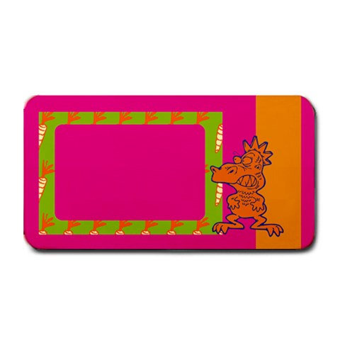 Me And My Monster   16 x8 5  Bar Mat By Carmensita   Medium Bar Mat   9awxvksvz8kc   Www Artscow Com 16 x8.5 Bar Mat - 1