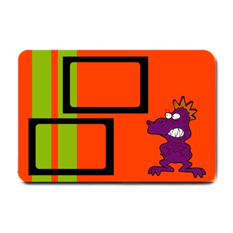 Me And My Monster   24 x16  Door Mat By Carmensita   Small Doormat   K2h1xak1uy9k   Www Artscow Com 24 x16 Door Mat - 1