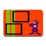 Me and my monster - 24 X16  DOOR MAT - Small Doormat
