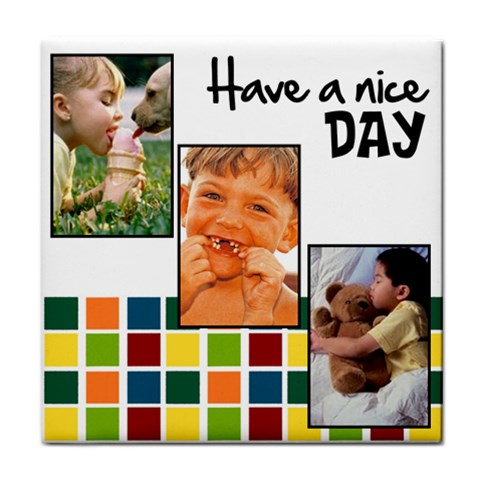 Have A Nice Day   Towel By Carmensita   Face Towel   Tw0gx9d212q2   Www Artscow Com Front