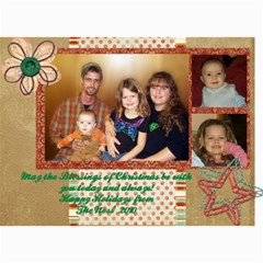 Christmas Cards 2010 By Jamey   5  X 7  Photo Cards   431hlica27aw   Www Artscow Com 7 x5 Photo Card - 2