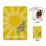 Our Vacation-playing cards - Playing Cards Single Design