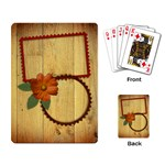 Rustic-playing cards - Playing Cards Single Design