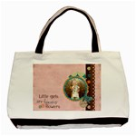 Little Girls are Heavens Flowers Tote Bag - Basic Tote Bag