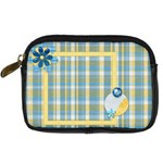 Ella in Blue Camera Bag - Digital Camera Leather Case